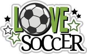 Love Soccer SVG scrapbook file soccer svg files soccer svg cuts soccer ball cut files