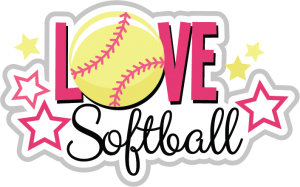 Love Softball SVG scrapbook title softball svg file svg files for scrapbooking free svgs svg cuts