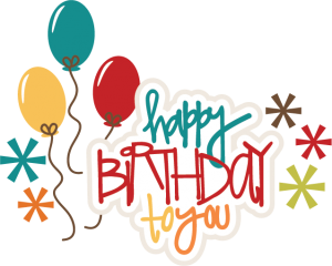 Happy Birthday To You SVG birthday cake svg file birthday girl svg file svg files for scrapbooking