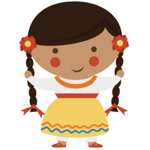 Small World Girl-Mexico SVG cut files for scrapbooking small world svg cut files mexico svg files