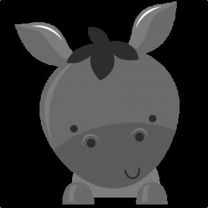 Donkey SVG file for scrapbooking donkey svg cut file free svgs free svg files cute svg cuts