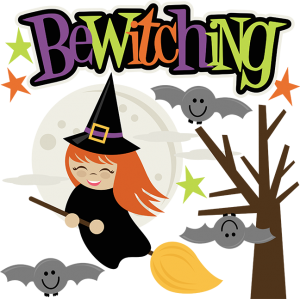 Bewitching SVG cut files for scrapbooking witch svg file halloween svg files scal files cute svgs