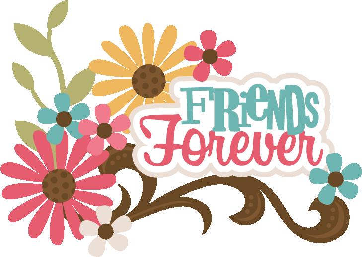 Friends Forever SVG scrapbook title best friends svg file for ...