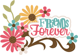Friends Forever SVG scrapbook title best friends svg file for scrapbooking friends svg cut files