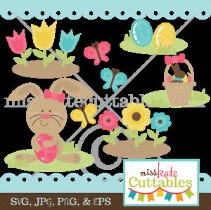 Happy Easter SVG scrapbook bundle easter svg file easter svg cuts free svgs for cards scrapbooks