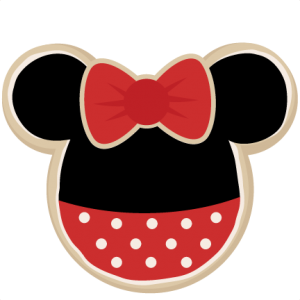 Mouse Shaped Cookie Girl SVG cut files for scrapbooking mouse ears svg files free svg files free svg cuts