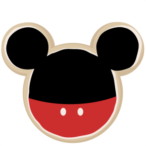 Mouse Shaped Cookie Boy SVG cut files for scrapbooking mouse ears svg files free svg files free svg cuts