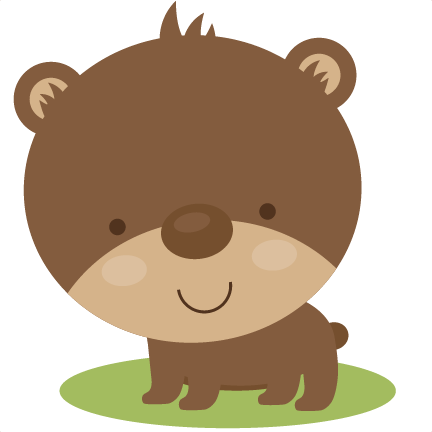 Cute grizzly bear clipart - photo#25
