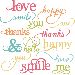 Pretty Words SVG cut files for scrapbooking words svg cut files for cards free svg cutting files