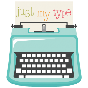 Just My Type SVG file typewriter svg cut file cute svgs cute svg cuts free scal files for cricut