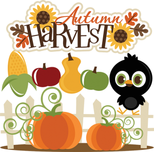 Autumn Harvest SVG cut files for cutting machines fall svg files crow svg cut files pumpkin svgs