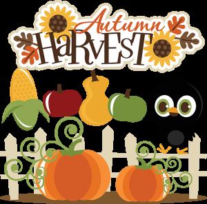 Autumn Harvest SVG cut files for cutting machines fall svg files crow svg cut files pumpkin svgs