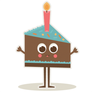 Birthday Slice Of Cake SVG cut files for scrapbooking birthday svg files free svgs svg cut files