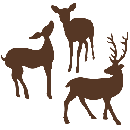 Download Deer SVG cut file for scrapbooking free svgs free svg cuts ...