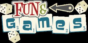 Fun & Games SVG scrapbook title games svg cut files dice svg cutting files free svg cuts