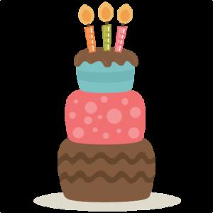 Birthday Cake SVG files birthday svg files birthday svg cuts cute svgs free svg files for scrapbooking