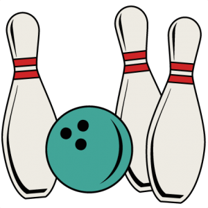 Bowling Pins And Ball SVG cut files bowling cutting files bowling scal files free svg cuts
