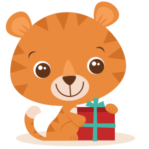 Birthday Tiger SVG cut file birthday svg files birthday svg cutting files free svg cuts