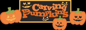 Carving Pumpkins SVG cut files carving pumpkins svg scrapbook title free svg cuts