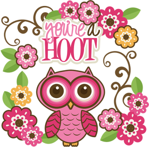 You're A Hoot SVG cutting files owl svg files flower svg cut files free svg cuts free svg files