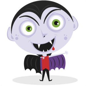 Vampire SVG cut file for cutting machines vampire svg cuts halloween cut files halloween scal files