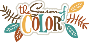 The Season Of Color SVG scrapbook title fall svg cut file free svg cuts fall colors svg cut files