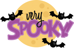 Very Spooky! SVG scrapbook title halloween svg scrapbook title very spooky svg cut file