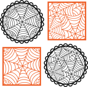 Spiderweb Overlays SVG cutting files halloween svg cutting files free svg cuts cute svgs