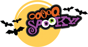 Ooooo, Spooky! SVG scrapbook title halloween svg scrapbook title free svg cuts cute svgs