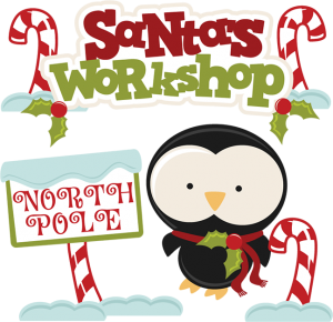 Santa's Workshop SVG cutting files santa svg cuts christmas svg cut files free svg cuts