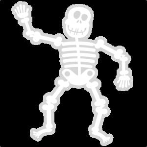 Skeleton SVG cut file halloween svg cut files halloweeen scal cutting files free svg cuts