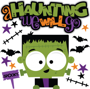A Haunting We Will Go SVG cut file for scrapbooking frankenstein svg cut file free svg cuts