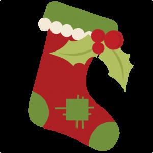 Christmas Stocking SVG cutting files christmas svg cuts christmas cutting files for cricut