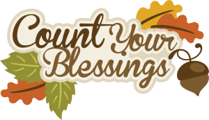 Count Your Blessings SVG scrapbook title thanksgiving svg cut files