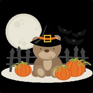 Halloween Bear SVG cutting files free svg cuts halloween svg files for cutting machines