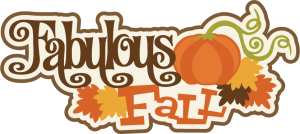 Fabulous Fall SVG scrapbook title fall svg cut files autumn svg files free svg cuts