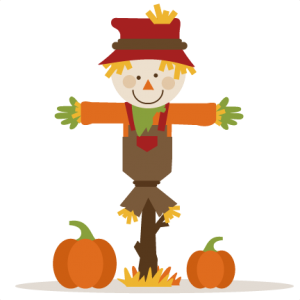 Scarecrow With Pumpkins SVG cutting file fall svg cut files autumn svg cutting files