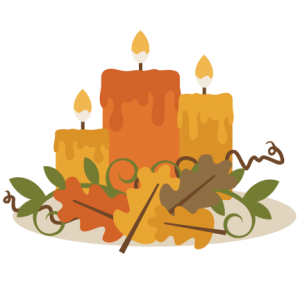Fall Candle Centerpiece SVG cutting files fall svg cuts fall svg cutting shapes scal files