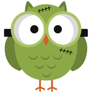 Halloween Frankenstein Owl SVG cutting files halloween svg cuts free svg files free svg cuts