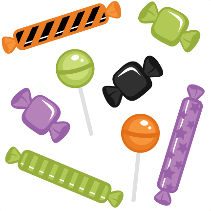 Halloween Candy Set Svg Cutting Files Halloween Svg Cuts