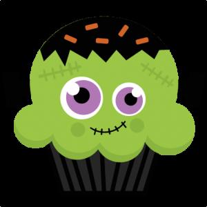 Frankenstein Cupcake SVG cutting file halloween svg cut files halloween svg cuts free svgs