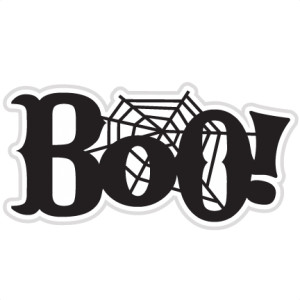 Boo! SVG scrapbook title ghost svg file halloween svg cut file halloween scal cuts free svgs