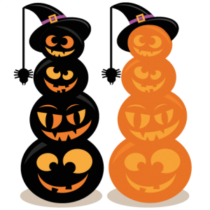 Stacked Jack O Lanterns SVG cut files halloween svg files for scrapbooking halloween svg files free svgs