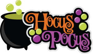 Hocus Pocus SVG scrapbook title halloween svg scrapbook title halloween svg cuts