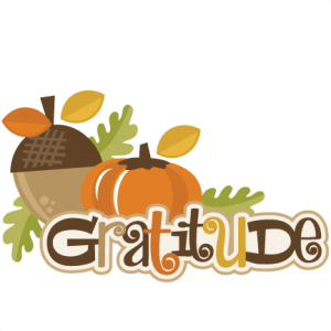 Gratitude SVG scrapbook title thanksgiving svg scrapbook title