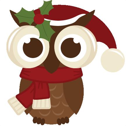 christmas owl christmasowl50cents111613 christmas owl clip art free Christmas Owl Clip Art Black and White