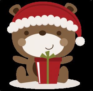 Christmas Bear SVG cutting files christmas svg cut files free svgs free svg cuts cute svgs