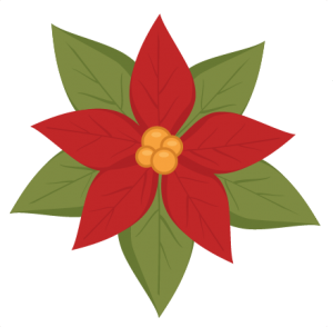 Poinsettia SVG cutting file christmas svg cut file free svgs free svg cuts
