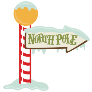 North Pole Sign SVG cutting file christmas svg files christmas svg cut files free svg cuts