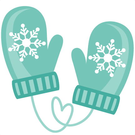 Winter Mittens SVG cutting files winter svg cuts winter ...